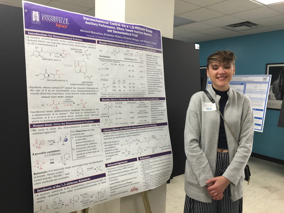 undergraduate research projects in chemistry His research interests range from the synthesis of novel organic molecules to the history and philosophy of science to the proper role of research at undergraduate institutions he has served as the president of the council on undergraduate research and a chemistry councilor.