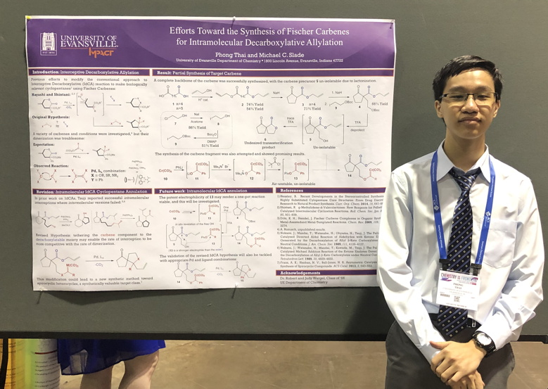 Undergraduate Research - Chemistry - University of Evansville