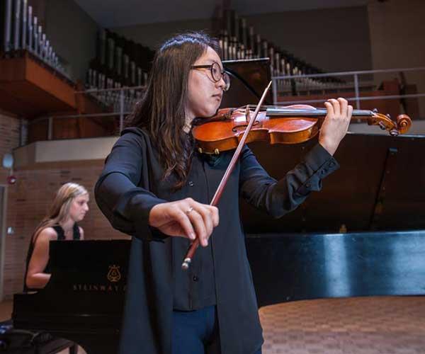 Strings - Music - University of Evansville