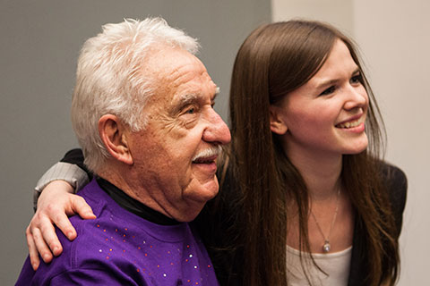 Doc Severinson and Melanie Baker