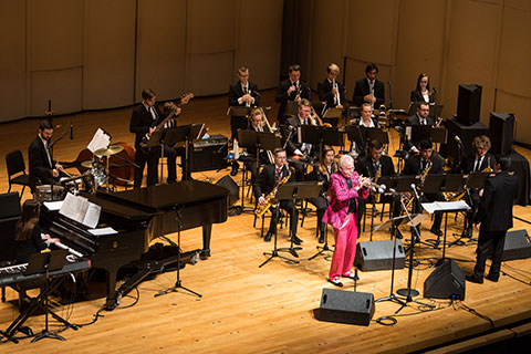Doc Severinsen and UE Jazz Ensemble