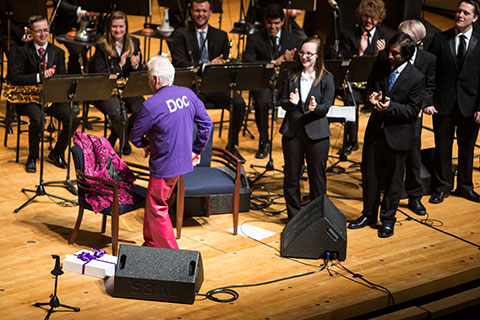 Doc Severinson and UE Jazz Ensemble