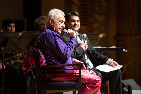Doc Severinson answering audience questions