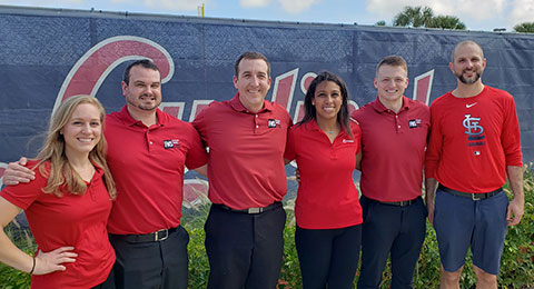 UE Faculty, Alumni, & Sports Residents Lead Performance Testing at MLB Spring Training