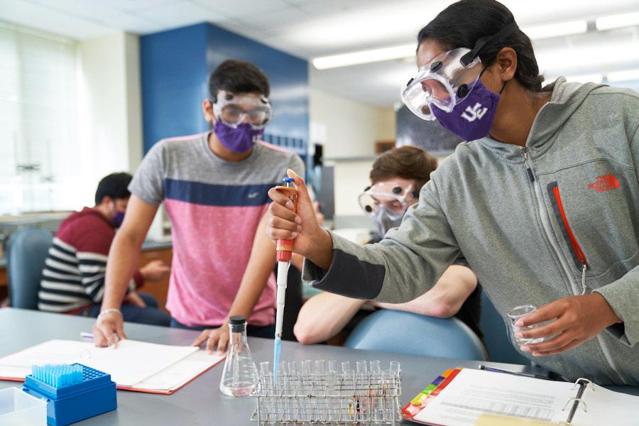 UE Chemistry Students