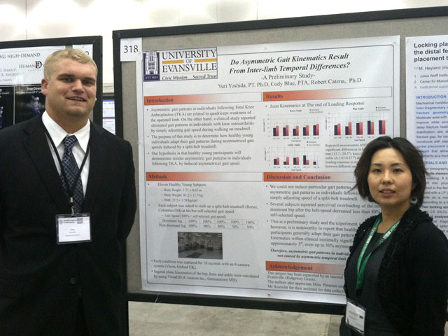 Cody Blue, 2014 PTA Program Graduate, Presents at the World Congress of Biomechanics