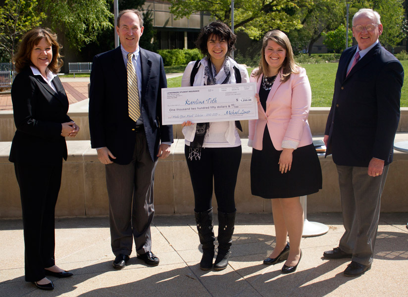UE International Student, Cognitive Science Major Wins Scholarship Competition