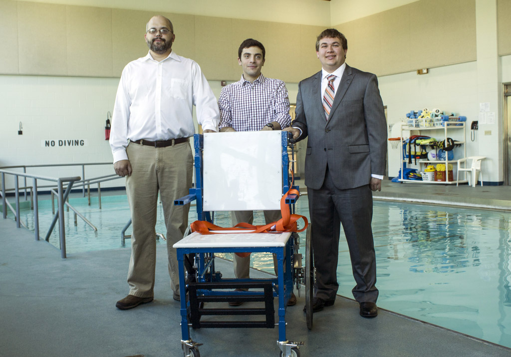 Mechanical Engineering Students Design Aquatic Wheelchair for Easter Seals