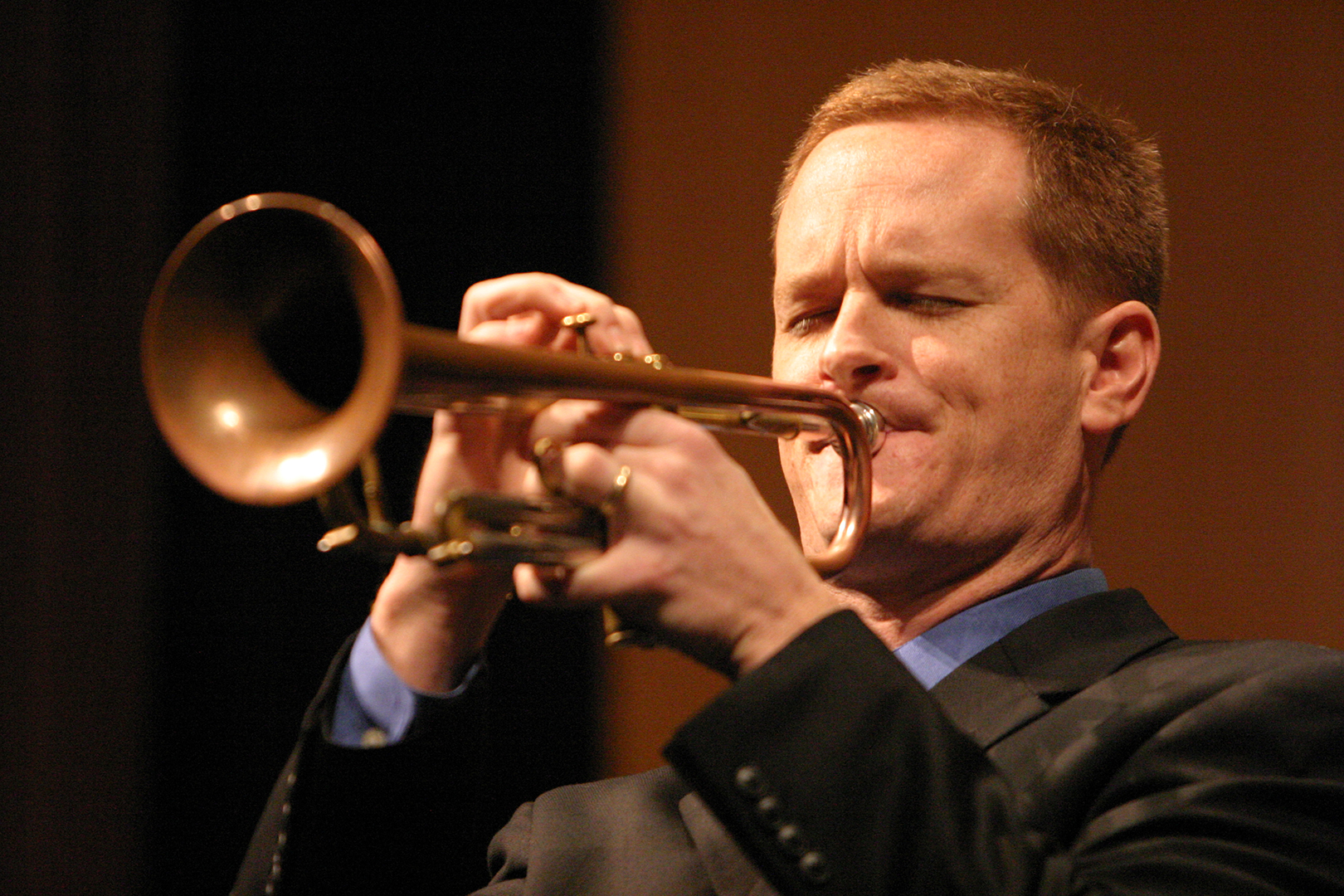 Graham Breedlove playing Trumpet