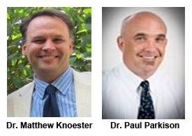 Dr. Matthew Knoester and Dr. Paul Parkison