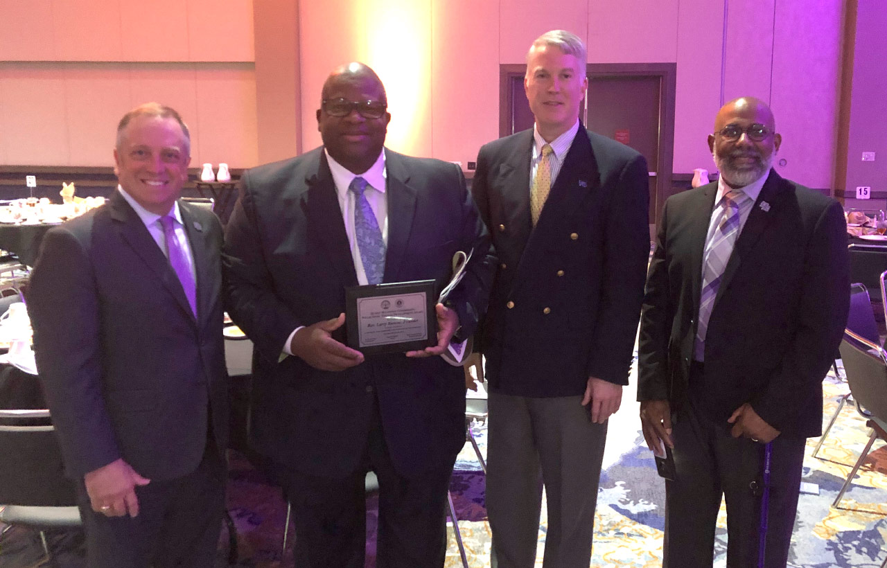 UE Trustee Reverend Larry Rascoe Receives Mayor's Celebration of Diversity Award