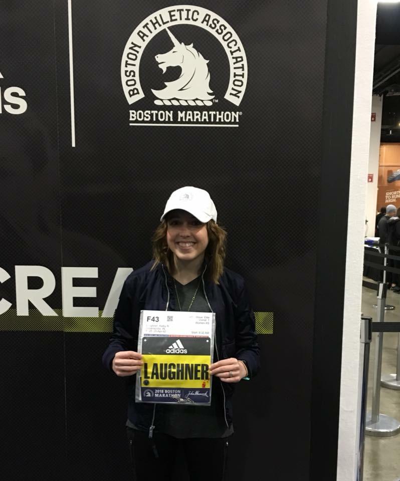 Schroeder alumna completes Boston Marathon