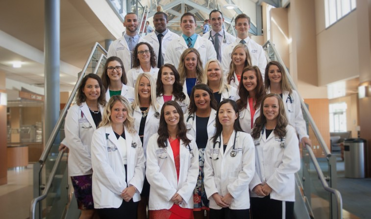 Physician Assistant Program students