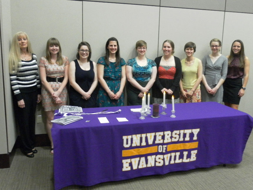 Phi Sigma Iota initiation ceremony held April 7th