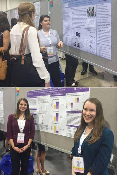 PT Faculty and Students Present at National Physical Therapy Meeting