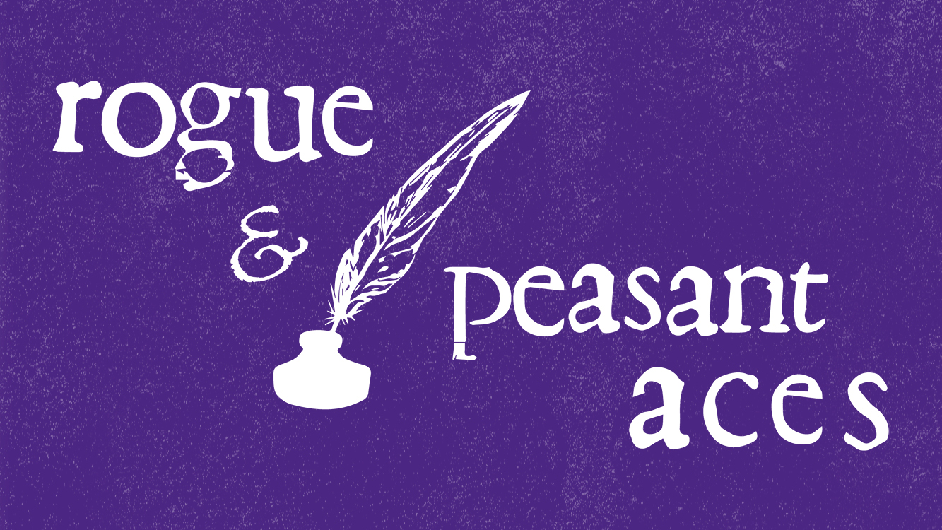 The Rogue and Peasant Aces Logo