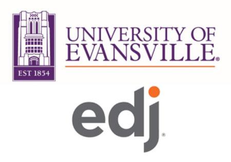 University of Evansville and Edj Logos