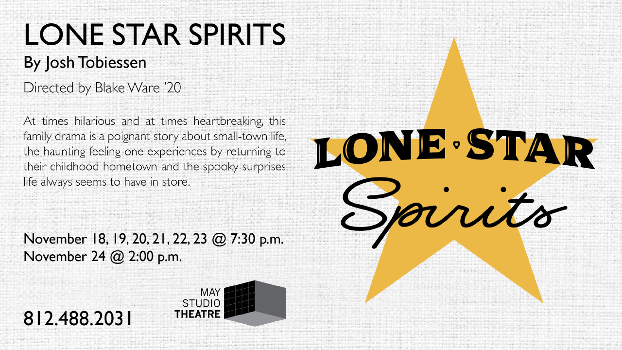 Lone Star Spirits Flyer